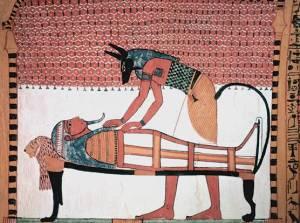 Anubis_attending_the_mummy_of_Sennedjem