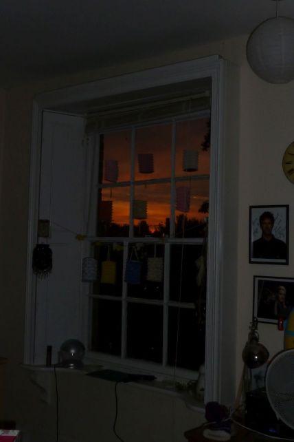 Dawn from my study window